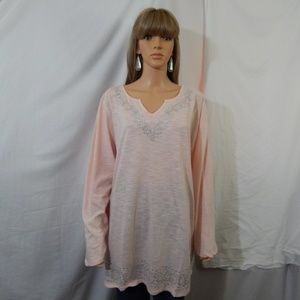 NWOT Woman Within 4X 34/36 Top Shirt Blouse NEW